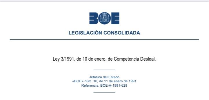 Ley de Competencia Desleal